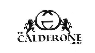 mark for CG THE CALDERONE GROUP, trademark #85355852