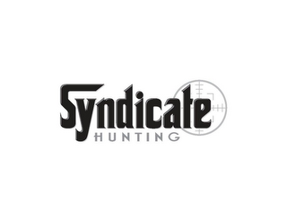 mark for SYNDICATE HUNTING, trademark #85357308