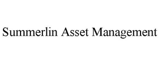 mark for SUMMERLIN ASSET MANAGEMENT, trademark #85357645