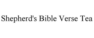mark for SHEPHERD'S BIBLE VERSE TEA, trademark #85357646