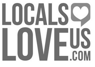 mark for LOCALS LOVE US.COM, trademark #85357744