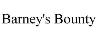 mark for BARNEY'S BOUNTY, trademark #85357833