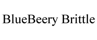 mark for BLUEBEERY BRITTLE, trademark #85357841