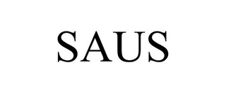 mark for SAUS, trademark #85357978