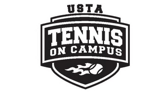 mark for USTA TENNIS ON CAMPUS, trademark #85358107
