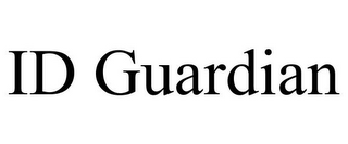 mark for ID GUARDIAN, trademark #85358423