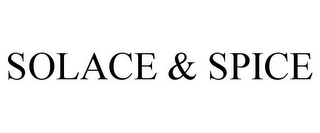 mark for SOLACE & SPICE, trademark #85359534