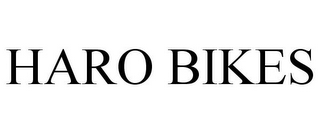 mark for HARO BIKES, trademark #85359792