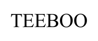 mark for TEEBOO, trademark #85360147