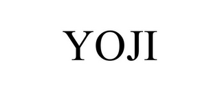 mark for YOJI, trademark #85360207