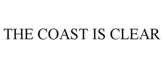 mark for THE COAST IS CLEAR, trademark #85360232