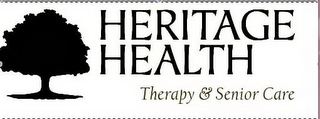 mark for HERITAGE HEALTH THERAPY & SENIOR CARE, trademark #85360407
