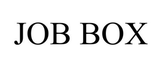 mark for JOB BOX, trademark #85361032