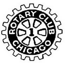 mark for 1 ROTARY CLUB CHICAGO, trademark #85361169