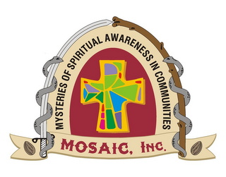 mark for MYSTERIES OF SPIRITUAL AWARENESS IN COMMUNITIES MOSAIC , INC., trademark #85361301