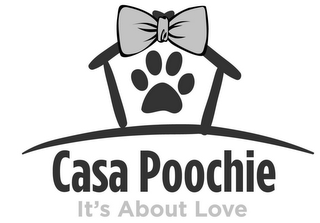 mark for CASA POOCHIE--IT'S ABOUT LOVE, trademark #85362219