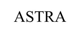 mark for ASTRA, trademark #85362396