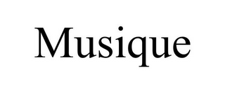 mark for MUSIQUE, trademark #85362701