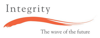 mark for INTEGRITY THE WAVE OF THE FUTURE, trademark #85362855