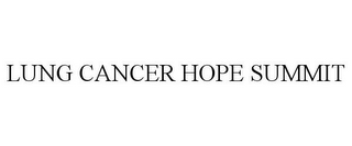 mark for LUNG CANCER HOPE SUMMIT, trademark #85362948