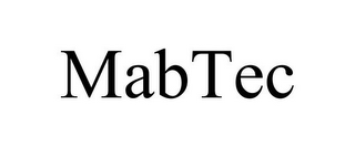 mark for MABTEC, trademark #85362955