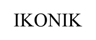 mark for IKONIK, trademark #85363425