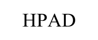 mark for HPAD, trademark #85363487