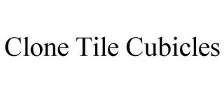 mark for CLONE TILE CUBICLES, trademark #85363921