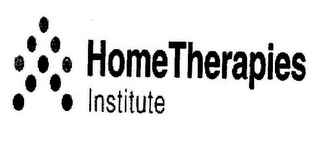 mark for HOME THERAPIES INSTITUTE VV, trademark #85363986