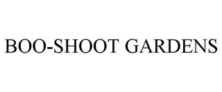mark for BOO-SHOOT GARDENS, trademark #85364692