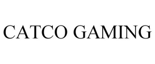 mark for CATCO GAMING, trademark #85364717