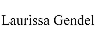 mark for LAURISSA GENDEL, trademark #85365034