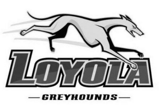 mark for LOYOLA GREYHOUNDS, trademark #85366630