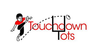 mark for TOUCHDOWN TOTS, trademark #85368221