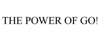 mark for THE POWER OF GO!, trademark #85368254