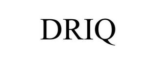 mark for DRIQ, trademark #85368342