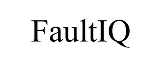 mark for FAULTIQ, trademark #85368375