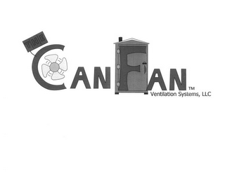 mark for THE CANFAN VENTILATION SYSTEMS, LLC, trademark #85368660