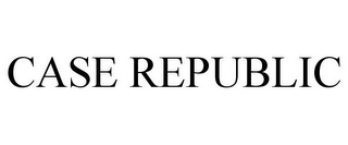 mark for CASE REPUBLIC, trademark #85369197