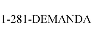 mark for 1-281-DEMANDA, trademark #85369582