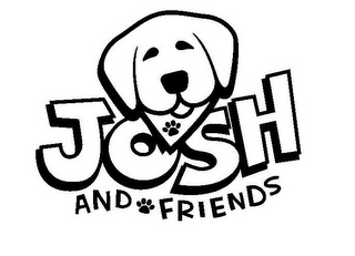 mark for JOSH AND FRIENDS, trademark #85369935
