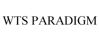 mark for WTS PARADIGM, trademark #85370094