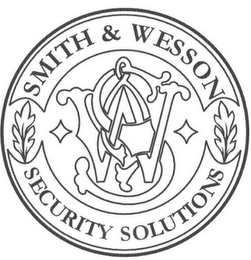 mark for S W SMITH & WESSON AND SECURITY SOLUTIONS, trademark #85370106