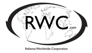 mark for RWC.COM RELIANCE WORLDWIDE CORPORATION, trademark #85371395