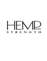 mark for HEMP NATURAL STRENGTH, trademark #85371497