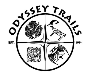 mark for ODYSSEY TRAILS EST. 1994, trademark #85371575
