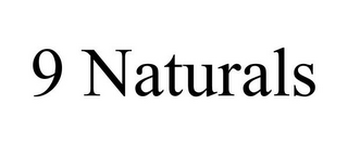 mark for 9 NATURALS, trademark #85372018
