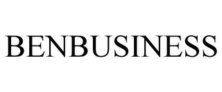 mark for BENBUSINESS, trademark #85372055