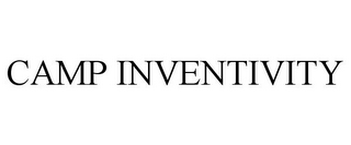 mark for CAMP INVENTIVITY, trademark #85372182