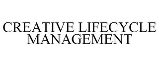 mark for CREATIVE LIFECYCLE MANAGEMENT, trademark #85372207
